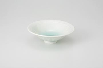 【まとめ買い10個セット品】和食器 青白瓷 反型4.8鉢 35K070-32 まごころ第35集 【キャンセル/返品不可】