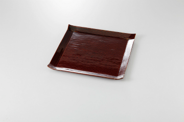 【まとめ買い10個セット品】和食器 あめ釉 こより大皿 36K142-18 まごころ第36集 【キャンセル/返品不可】
