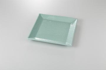 【まとめ買い10個セット品】和食器 青地布目 角尺皿 35A142-13 まごころ第35集 【キャンセル/返品不可】
