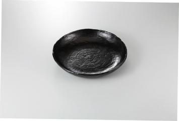 【まとめ買い10個セット品】和食器 ブラック 盛鉢 35K232-02 まごころ第35集 【キャンセル/返品不可】