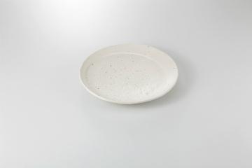 和食器 変型リム白 9吋半丸皿 35A200-11 まごころ第35集