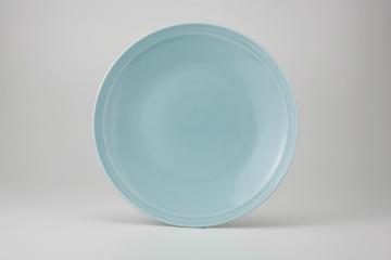 【まとめ買い10個セット品】和食器 青磁 丸尺1皿 36K355-11 まごころ第36集 【キャンセル/返品不可】