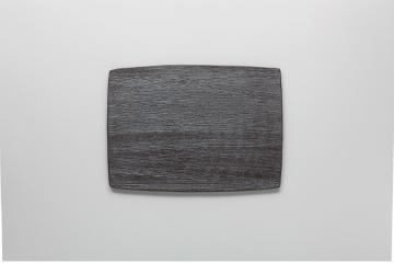 【まとめ買い10個セット品】和食器 炭化黒 陶板M 36K374-11 まごころ第36集 【キャンセル/返品不可】