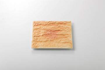 【まとめ買い10個セット品】和食器 陸 石肌正角皿(大) 35K387-12 まごころ第35集 【キャンセル/返品不可】