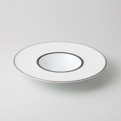 【まとめ買い10個セット品】和食器 アルティマ 25cm平型スープ 35A450-11 まごころ第35集 【キャンセル/返品不可】