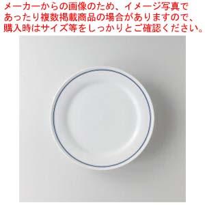 【まとめ買い10個セット品】和食器 ブルーボーダー 10″ディナー 36A483-54 まごころ第36集 【キャンセル/返品不可】