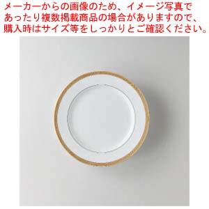【まとめ買い10個セット品】和食器 ビクトリーゴールド(純白強化磁器) 6半パン皿 36A484-01 まごころ第36集 【キャンセル/返品不可】