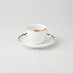 【まとめ買い10個セット品】和食器 ダイヤポイント コーヒーC(強化) 35A453-62 まごころ第35集 【キャンセル/返品不可】