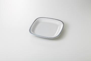 【まとめ買い10個セット品】和食器 ミンシング 10吋正角皿 35A437-03 まごころ第35集 【キャンセル/返品不可】