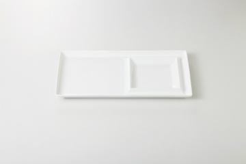 【まとめ買い10個セット品】和食器 白 二品長盛皿 35M412-14 まごころ第35集 【キャンセル/返品不可】