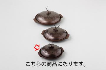 【まとめ買い10個セット品】和食器 いぶし銅丸陶板 φ14浅皿(中国) 35K515-04 まごころ第35集 【キャンセル/返品不可】