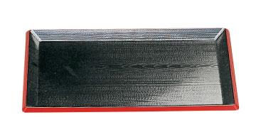 【まとめ買い10個セット品】和食器 利休盆 黒天朱SL 尺4 35C560-09 まごころ第35集 【キャンセル/返品不可】