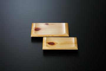 和食器 ひのき紅節Hi美林盛皿 (小) 35R554-09 まごころ第35集