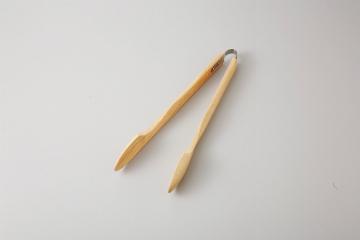 【まとめ買い10個セット品】和食器 木製アームトング ナチュラル(L) 35R556-29 まごころ第35集 【キャンセル/返品不可】