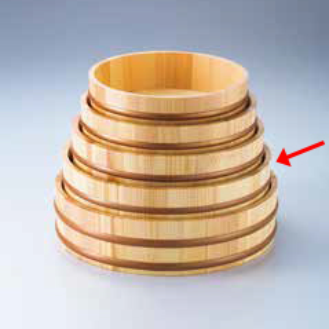 kak-30004 和食器 天然木盛込桶クリアー 直営店 目皿付 まごころ第36集 36R526-48 尺3 新色追加