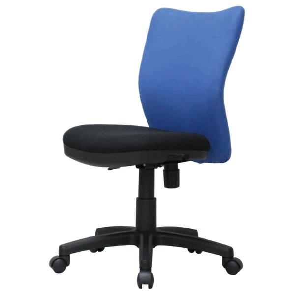 オフィスチェア〔ブルー〕 K-922〔BL〕【 椅子 洋風 イス チェア パーソナルチェア 1人掛け 】【 メーカー直送/後払い決済不可 】