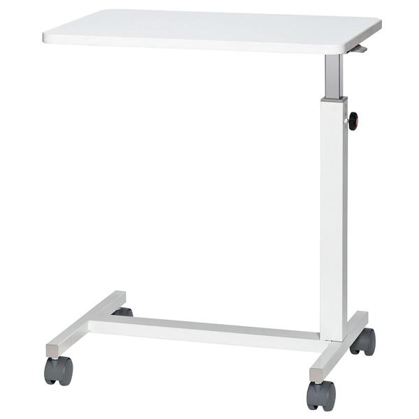 デスクサイドテーブル〔ホワイトグレー〕 KU-60【 テーブル 食堂用テーブル サイドテーブル 】【受注生産品】【 メーカー直送/後払い決済不可 】