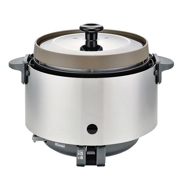 リンナイ ガス炊飯器(涼厨) RR-S20SF(A) (2升炊き・フッ素釜) LP