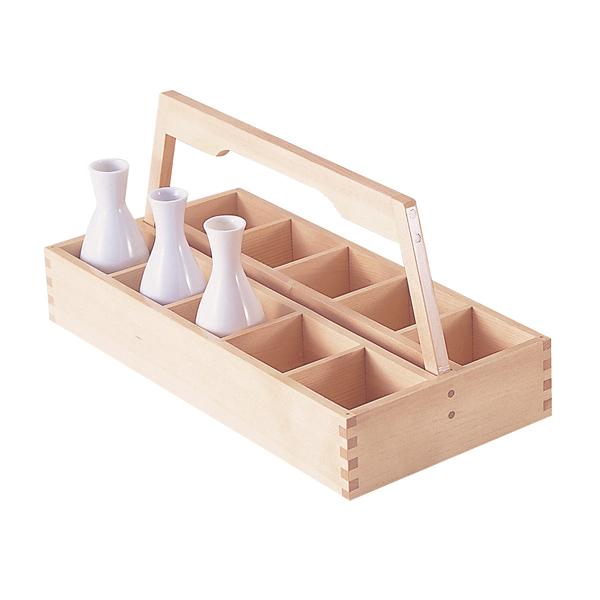白木 銚子運び (10本用)