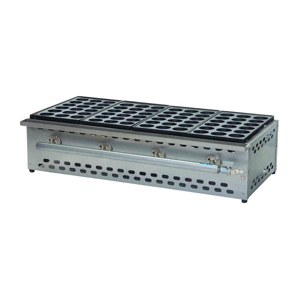 たこ焼機(18穴ジャンボ) カス受け付 TS-185S 5連 LP