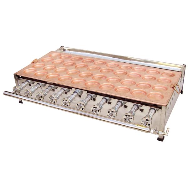 ガス式 大判焼機(銅板) OY60R 13A