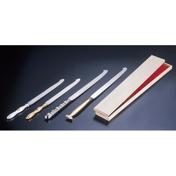 ウェディングケーキ ナイフ(桐箱入) 剣型