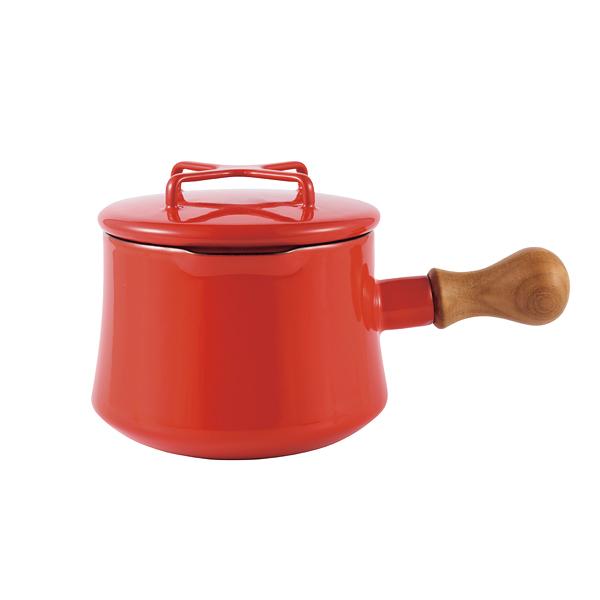 ダンスク 片手鍋 15cm チリレッド