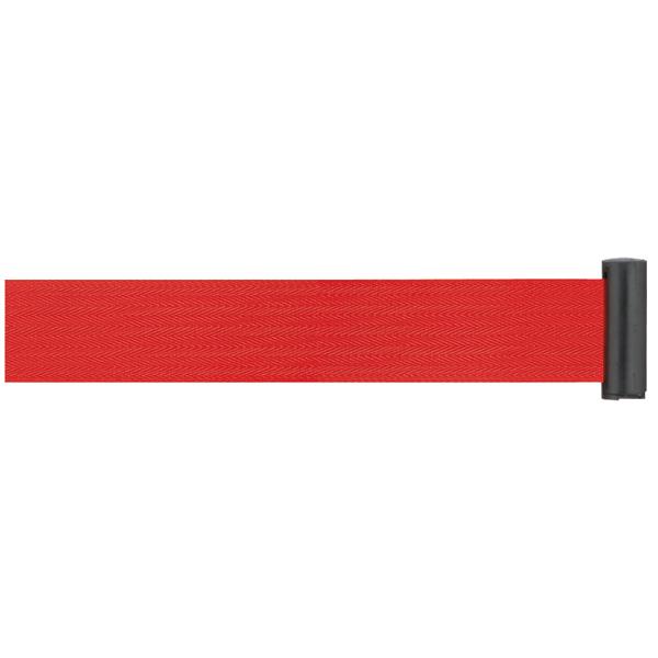 ミセル パーテーション 小 ベルト 赤 ブラック