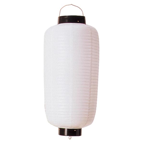 無地ビニール提灯 長型 小看板 白