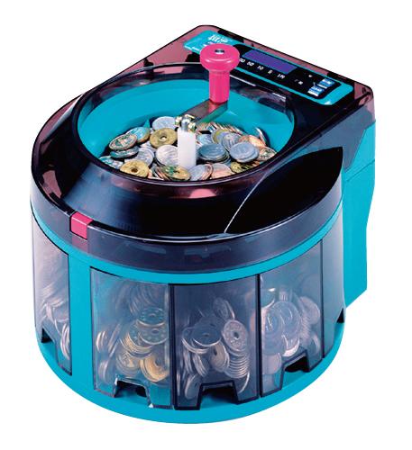 小型硬貨選別機コインソーター SCS-100