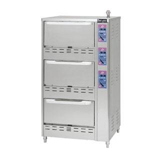 【 業務用炊飯器 】立体炊飯器 タイマー付 MRC-X3D 12A・13A(都市ガス)【 厨房機器 】 【 メーカー直送/後払い決済不可 】