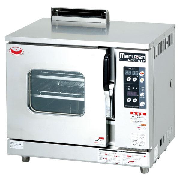 マルゼン ガス式コンベクションオーブン 卓上型 MCO-6TE 12A・13A(都市ガス)【 ガスオーブン 】【 オーブン 】