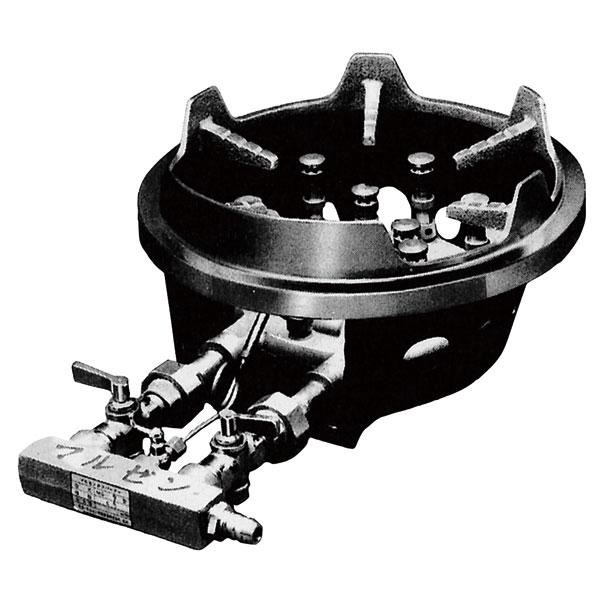 マルゼン ガス式スーパージャンボバーナー 卓上型〔MG-9〕 【 厨房機器 】 【 メーカー直送/後払い決済不可 】