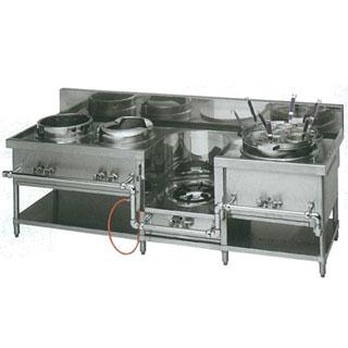おしゃれ mar-MRS-174C 中華レンジ 販売 通販 業務用 マルゼン ガス式スタンダードタイプ中華レンジ 4口レンジ 都市ガス 13A 新作多数 MRS-174C 後払い決済不可 メーカー直送 12A 厨房機器