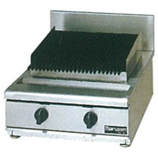 マルゼン ガス式NEWパワークックチャーブロイラー 卓上型〔RCB-067T〕 【 厨房機器 】 【 メーカー直送/代引不可 】
