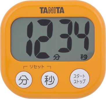 mms-t38450-td-384or rbx-27-9324013 mms-t38450-td-384or【 大きくて見やすいキッチンタイマー | 】 タニタ デジタルタイマーでか見えタイマー アプリコットオレンジ TD-384-OR 【TG99】
