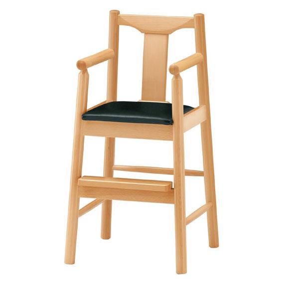 パンダN椅子 黒レザー | 張地:ニュートップ 6390 シンコール 【 メーカー直送/後払い決済不可 】
