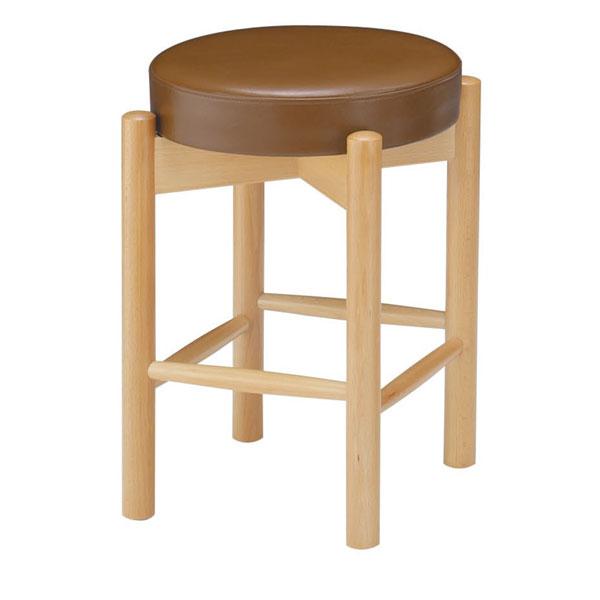 三笠N椅子 茶レザー | 張地:ニュートップ 6360 シンコール 【メーカー直送品&代金引換決済不可商品】