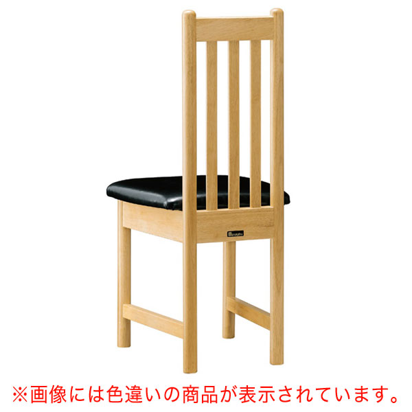男鹿N椅子 茶レザー | 張地:ニュートップ 6369 シンコール 【メーカー直送品&代金引換決済不可商品】