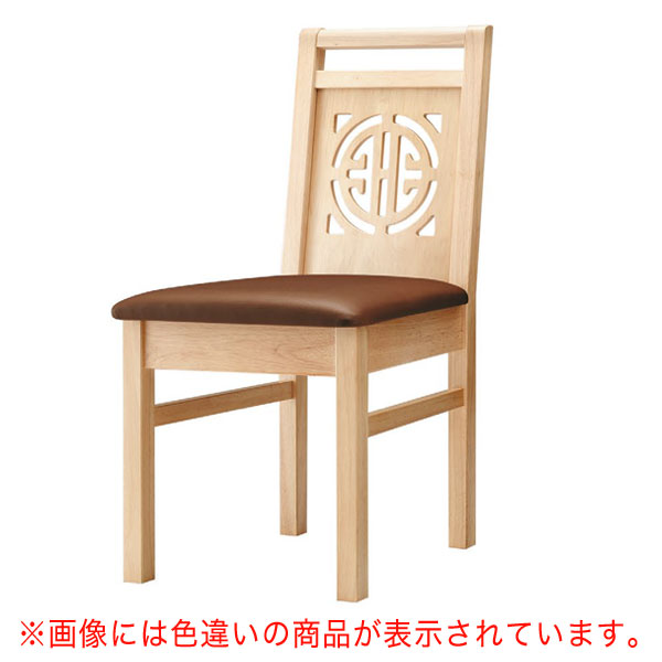 周荘N椅子 黒レザー   張地:オールマイティー 6416 シンコール 【メーカー直送品&代金引換決済不可商品】