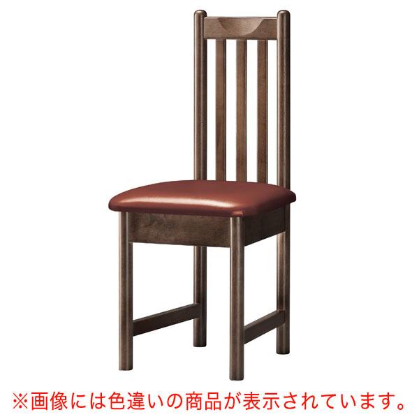 男鹿D椅子 赤レザー | 張地:ニュートップ 6383 シンコール 【メーカー直送品&代金引換決済不可商品】