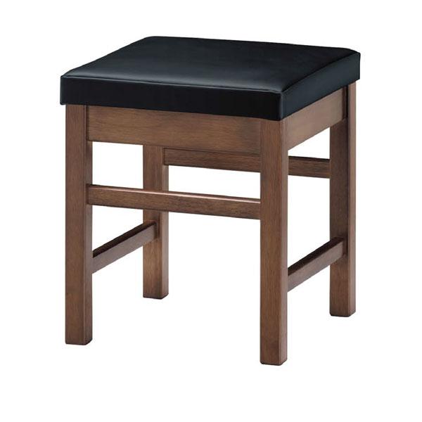天竜D椅子 黒レザー | 張地:クレンズII 6291 シンコール 【メーカー直送品&代金引換決済不可商品】