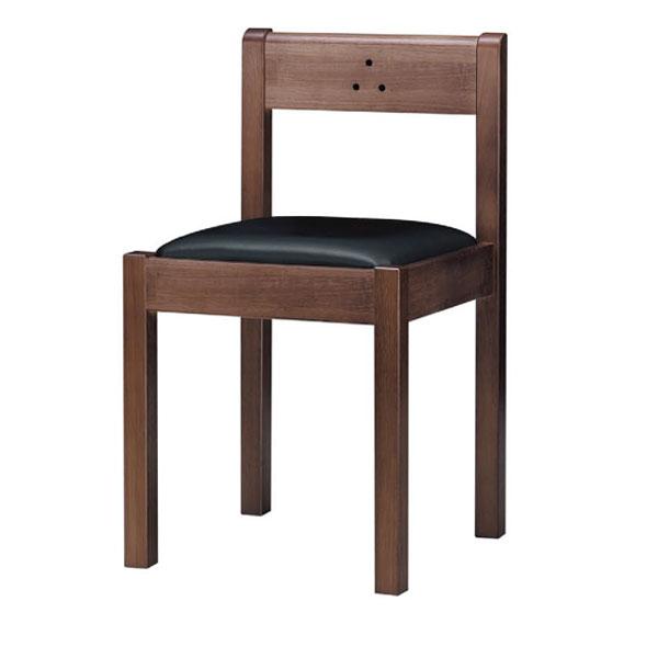不動D椅子 黒レザー | 張地:クレンズII 6291 シンコール 【 メーカー直送/後払い決済不可 】