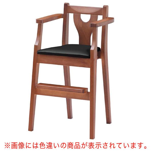 イルカK椅子 茶レザー   張地:オールマイティー 6439 シンコール 【 メーカー直送/後払い決済不可 】