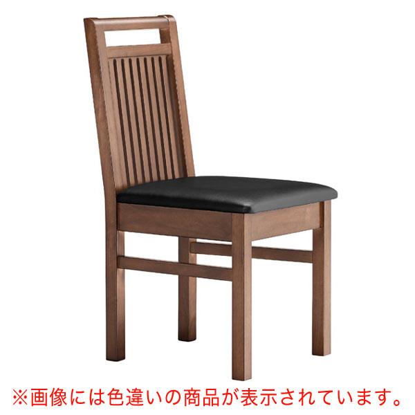 佐渡D椅子 茶レザー | 張地:オールマイティー 6439 シンコール 【メーカー直送品&代金引換決済不可商品】