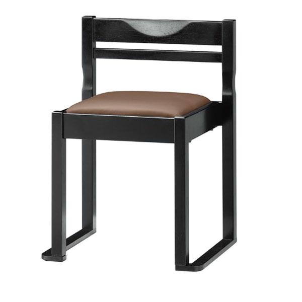 有田B椅子 茶レザー | 張地:クレンズII 6297 シンコール 【 メーカー直送/後払い決済不可 】