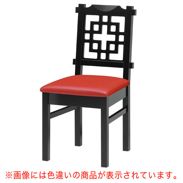 海南B椅子 茶レザー | 張地:オールマイティー 6439 シンコール 【メーカー直送品&代金引換決済不可商品】