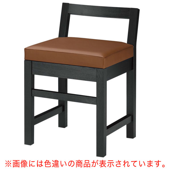 隼人B椅子 赤レザー   張地:オールマイティー 6467 シンコール 【 メーカー直送/後払い決済不可 】