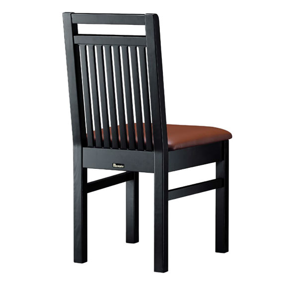 佐渡B椅子 茶レザー | 張地:オールマイティー 6439 シンコール 【メーカー直送品&代金引換決済不可商品】