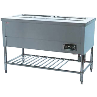 押切電機 電気ウォーマーテーブル (スタンダードタイプ) OTS-660 600×600×800【 メーカー直送/後払い決済不可 】